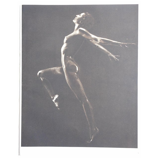 1935 Vintage Art Deco Nude Photogravure - Image 3 of 3