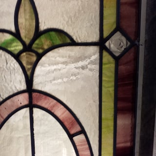 1900's Stained Glass Window Preview