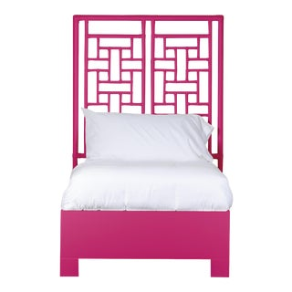 Ohana Bed Twin Extra Long - Bright Pink For Sale