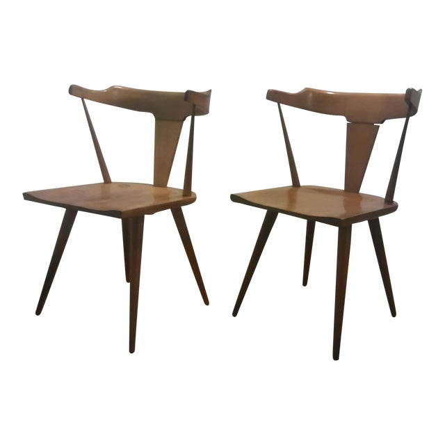 Paul McCobb Mid Century Modern Dining Chairs - a Pair - Image 1 of 9