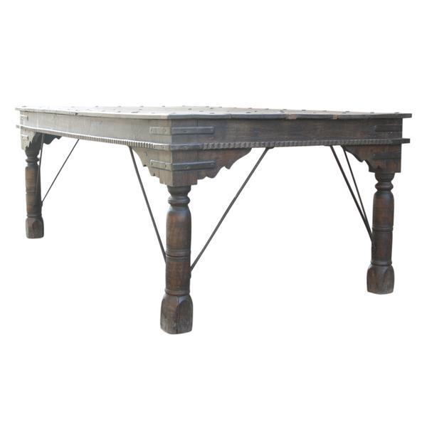 19th c takhat table chairish for Table th width