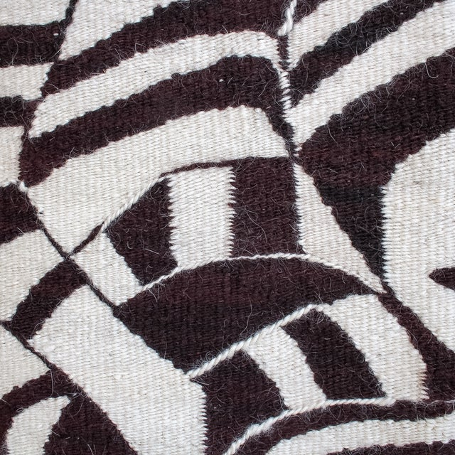 Large African Mohair Zebra Wall Hanging - Image 9 of 11