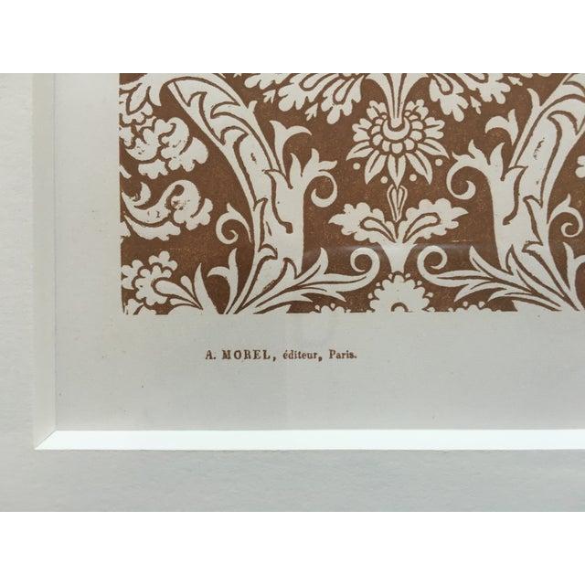 Framed Book Plate Pattern Prints - Set of 6 For Sale - Image 9 of 10