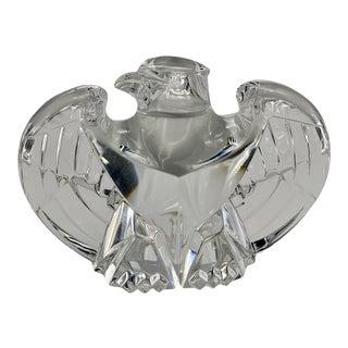 Vintage Steuben Glass Lloyd Atkins Crystal Decorative Eagle For Sale