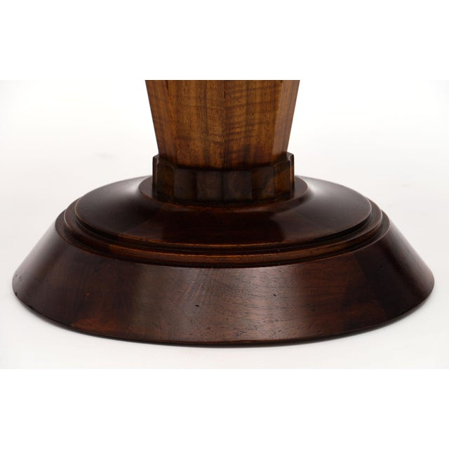 Art Deco Period Walnut Gueridon Table For Sale - Image 9 of 10