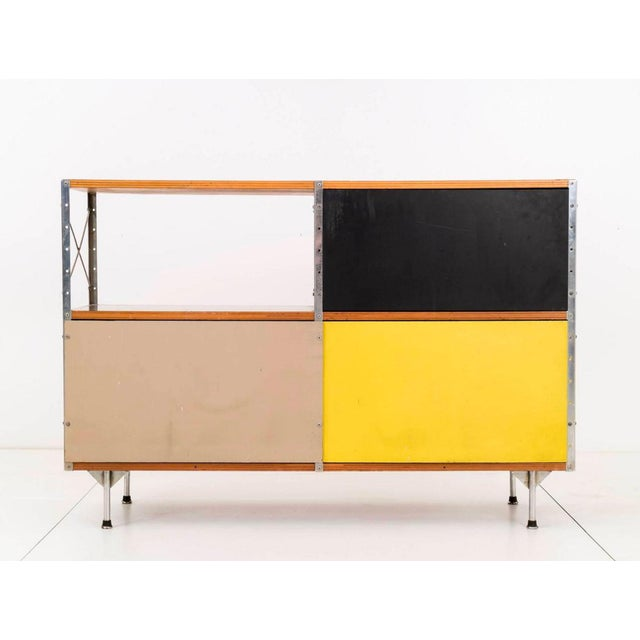 Mid-Century Modern Charles and Ray Eames ESU 220-N For Sale - Image 3 of 11