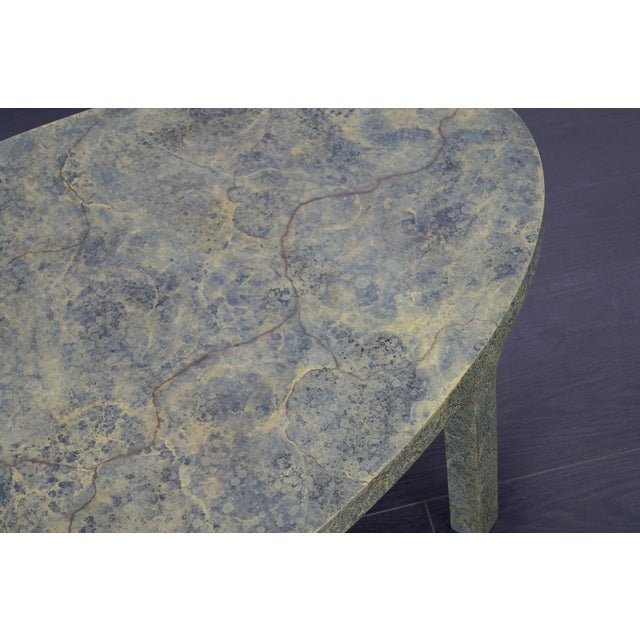Vintage Faux Goatskin Coffee Table For Sale In Los Angeles - Image 6 of 7