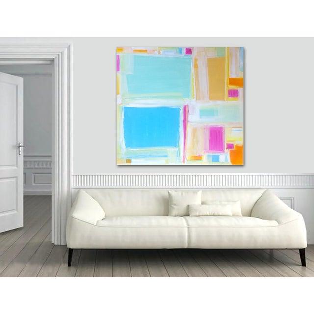 'MADRAS' Original Abstract Painting by Linnea Heide - Image 5 of 7