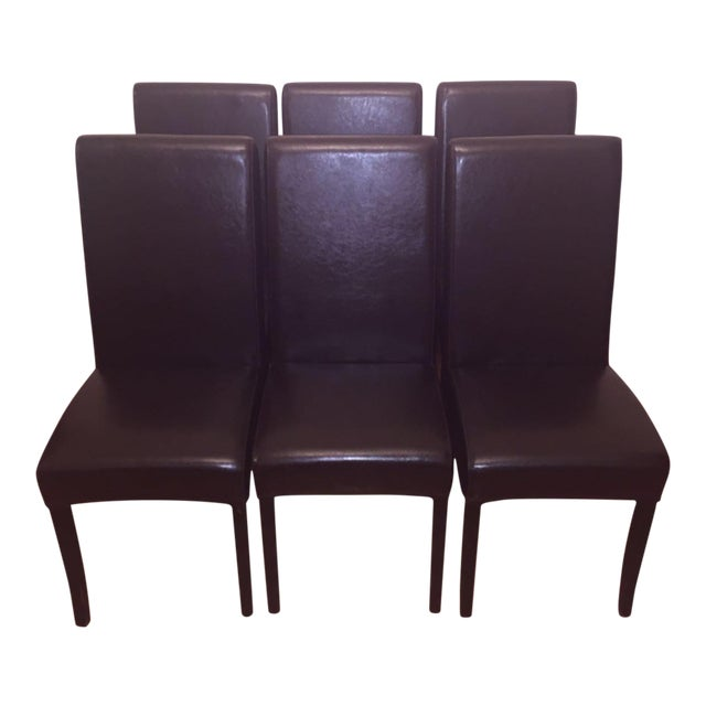 Parsons-Style Dining Chairs - Set of 6 - Image 1 of 7