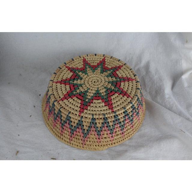 Primitive Ghanian Tribal Basket For Sale - Image 3 of 6