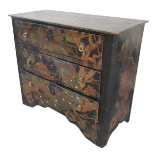A Lacquered Chest of Drawers, France 19th Century