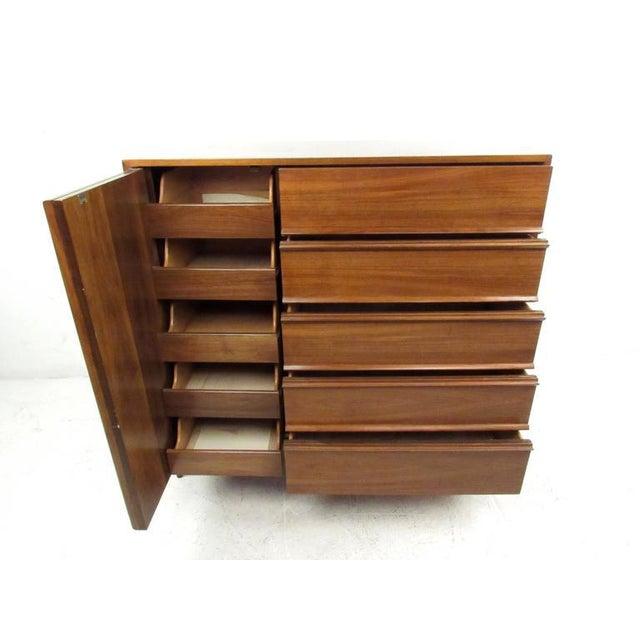Vintage Modern Modern Bedroom Dresser For Sale - Image 4 of 8