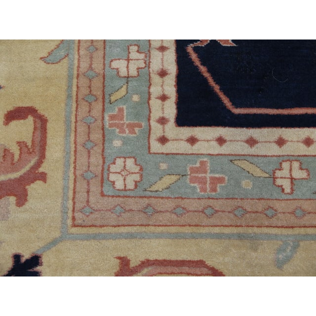 Persian Heriz Pattern Rug - 27' x 17' For Sale - Image 4 of 11
