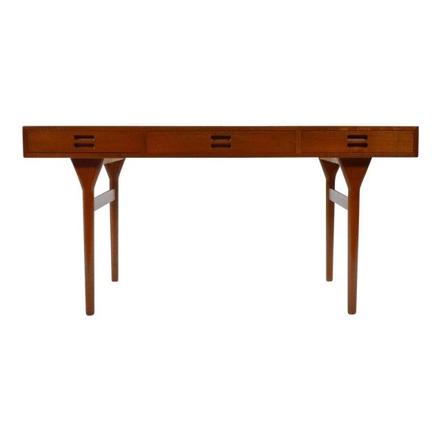 Nanna Ditzel & Jørgen Ditzel Three-Drawer Teak Desk For Sale