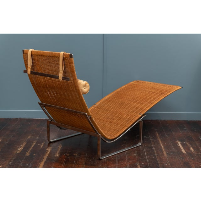 Poul Kjaerholm PK24 Chaise Lounge For Sale - Image 9 of 13
