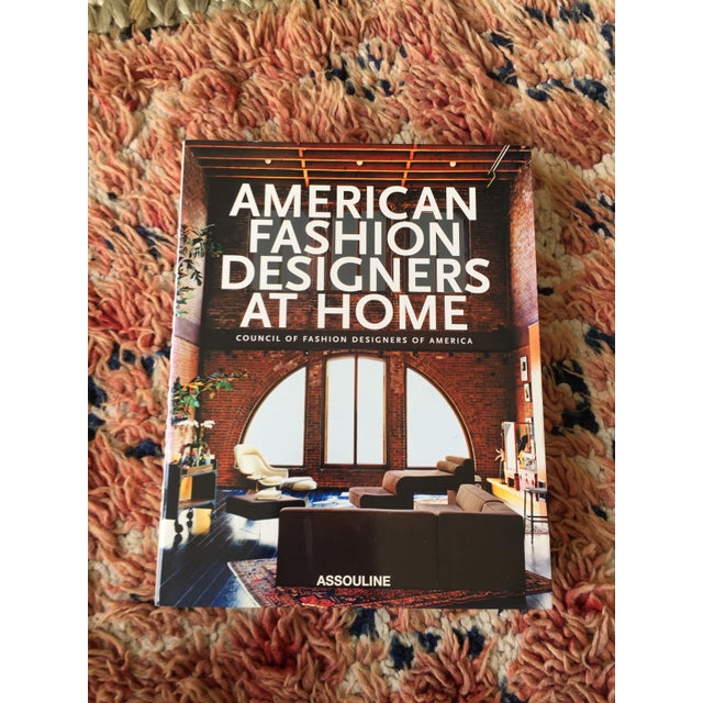 American Fashion Designers At Home Coffee Table Book Chairish