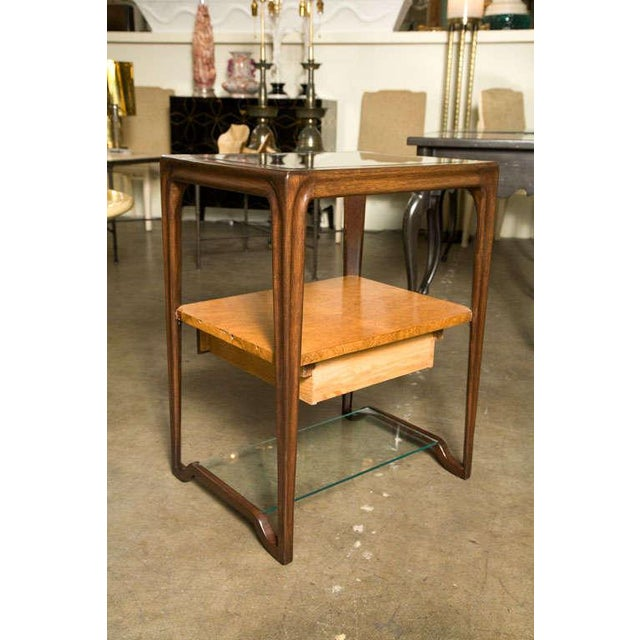Mid-Century Modern Restored Dunbar Night Stands - a Pair For Sale - Image 3 of 10
