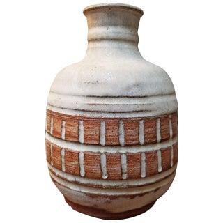 Studio Pottery Vessel by Herman Volz For Sale