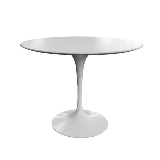 "Knoll Saarinen Tulip 42"" Dining Table - Image 4 of 4"