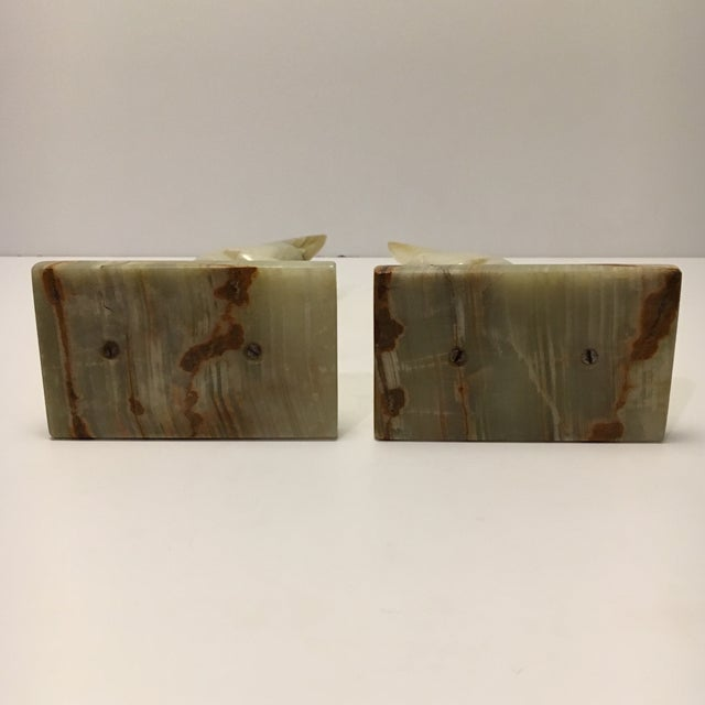 Vintage Marble Donkey Bookends - A Pair - Image 6 of 7