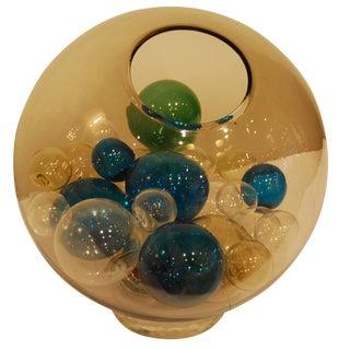 Venini Rare Lit Glass Piece Italy circa 1965 For Sale