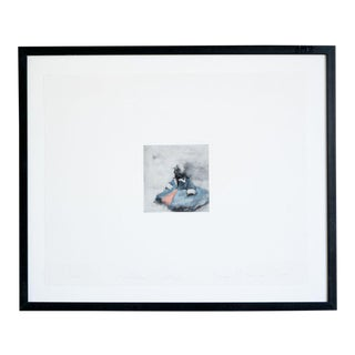 Late 20th Century Ellen Phelan Framed Lithograph For Sale