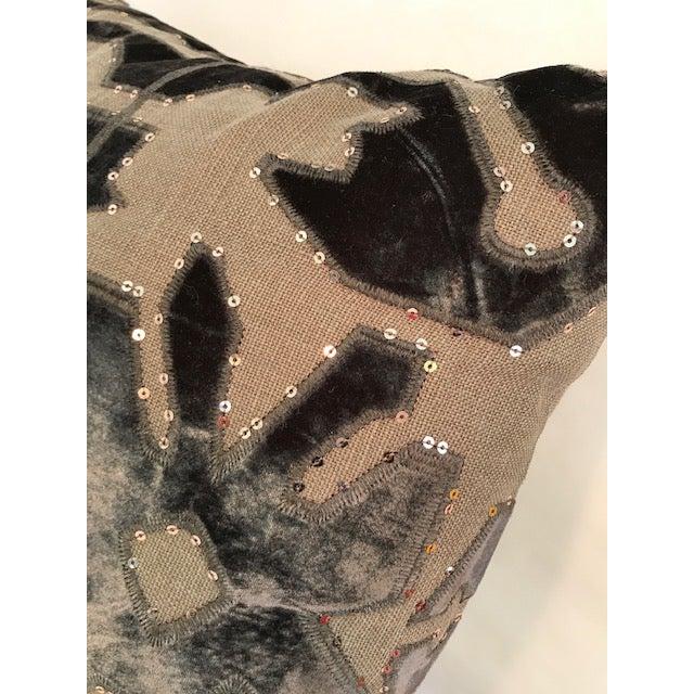 Linen Adam and Viktoria Swedish Natural Linen Tischa Pillow For Sale - Image 7 of 10
