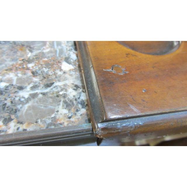 De Bournay Rafraichissoir Table With Marble Top - Image 8 of 10