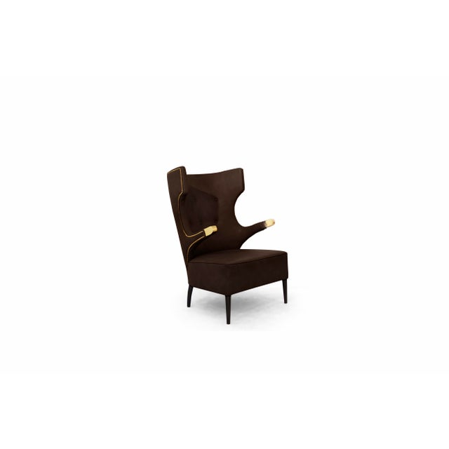 Sika Armchair From Covet Paris For Sale - Image 6 of 7