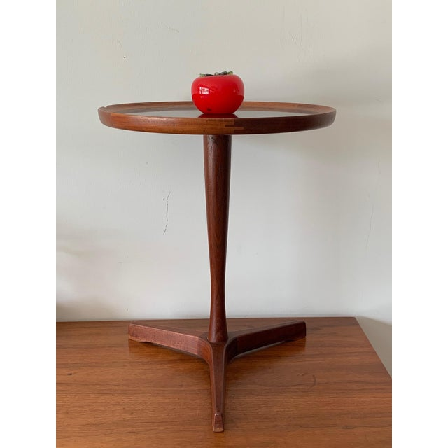 Brown 1960s Danish Modern Hans Andersen Teak Table For Sale - Image 8 of 10