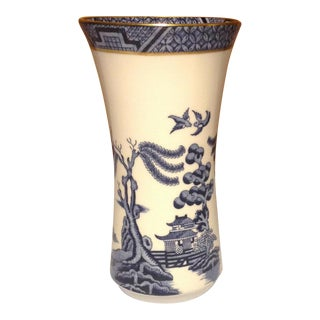 Original Royal Doulton Booths Porcelain Vase For Sale