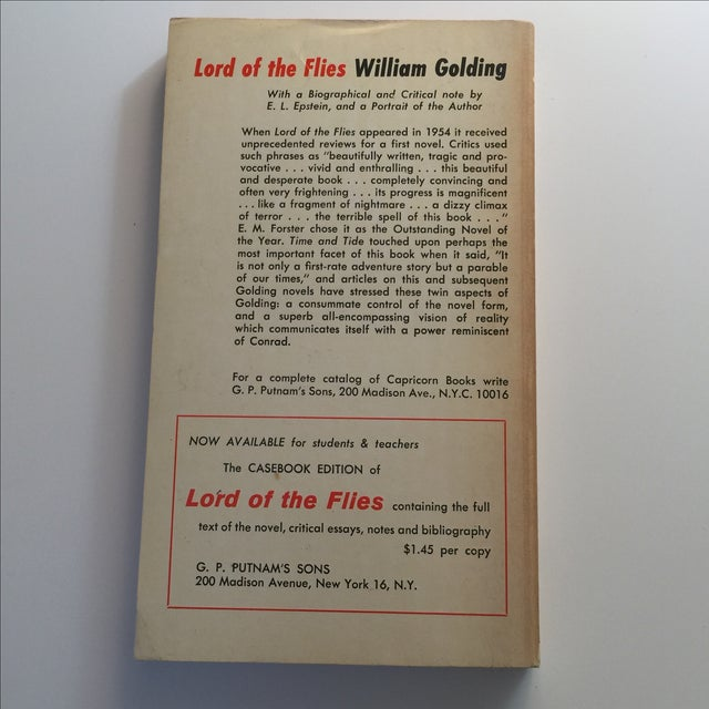 Mid-Century Modern Lord of the Flies by William Golding, 1959 For Sale - Image 3 of 5