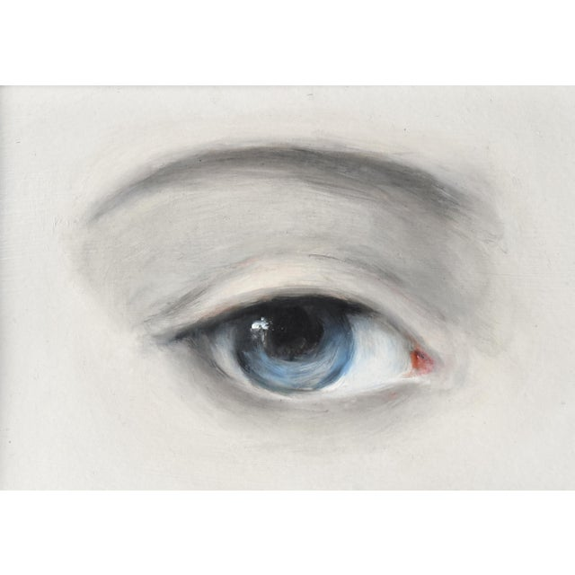 Susannah Carson Contemporary Lover's Eye Painting by Susannah Carson For Sale - Image 4 of 6