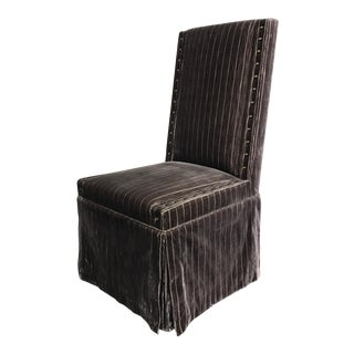 RJones Gray Warwick Chair For Sale
