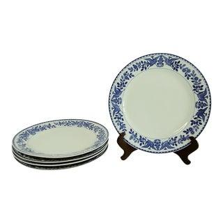 "Vintage Mid 20th Century Nippon ""Royal Sometuke"" Dinner Plates - Set of 5 For Sale"