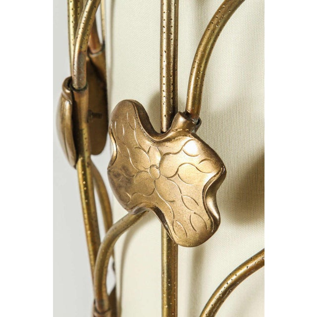 Brass Lotus Pendant - Image 9 of 10