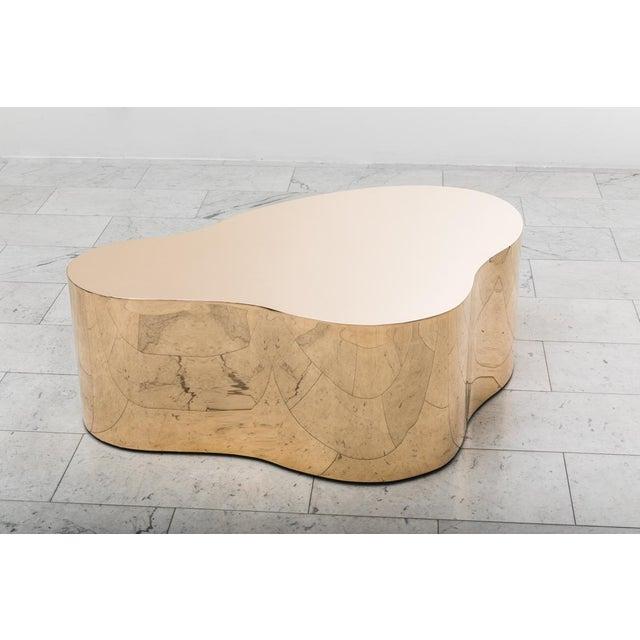 """Karl Springer LTD, Bronze Free Form Low Table """"C"""", USA, 2016 For Sale - Image 9 of 13"""