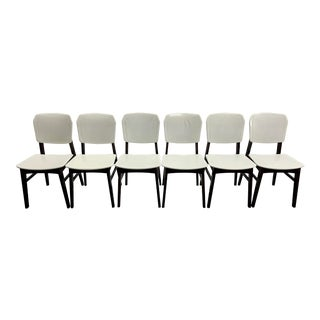 Vintage Mid Century Danish Dining Chairs - Set of 6 For Sale