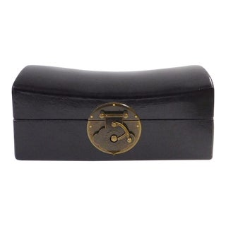 Chinese Black Pillow Shape Container Box cs1793S For Sale