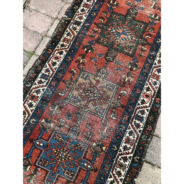 "Islamic Vintage Karajeh Wool Runner Rug - 2'10""x11'2"" For Sale - Image 3 of 10"