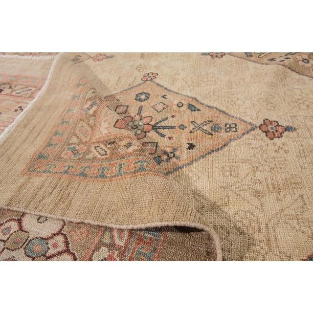 "Textile Apadana Kurdish Rug - 8'9"" x 9'8"" For Sale - Image 7 of 7"