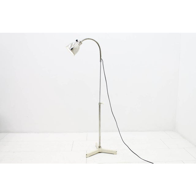 1930s Christian Dell Floor Lamp With Gooseneck 1930s For Sale - Image 5 of 9