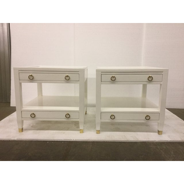 Malibu Loft White End Tables - A Pair - Image 2 of 9