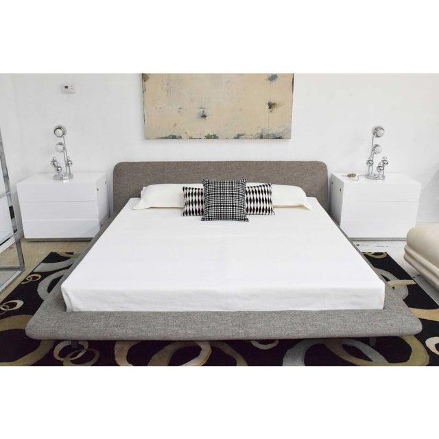 Gray Ligne Roset Uzume King Size Bed For Sale - Image 8 of 8