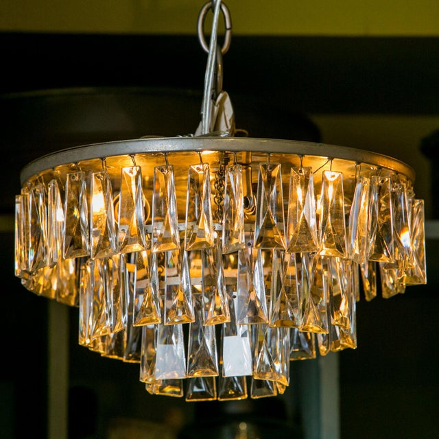 Vintage French Chandelier For Sale In Houston - Image 6 of 6
