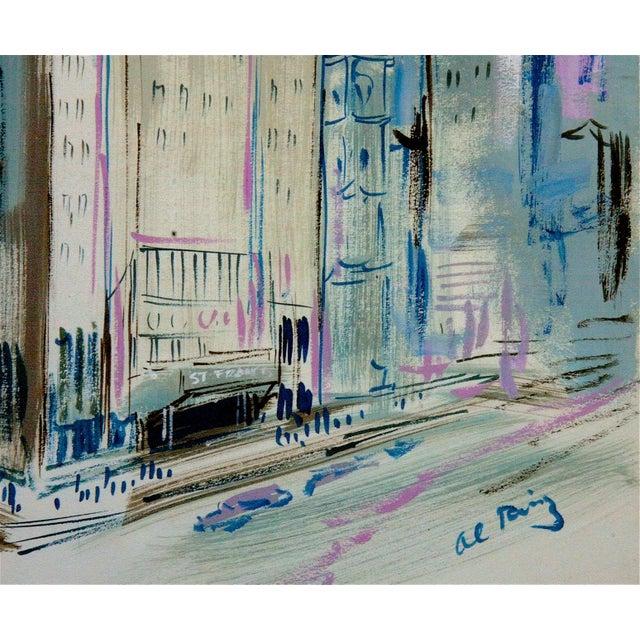 San Francisco Street Scene Painting - Image 3 of 3
