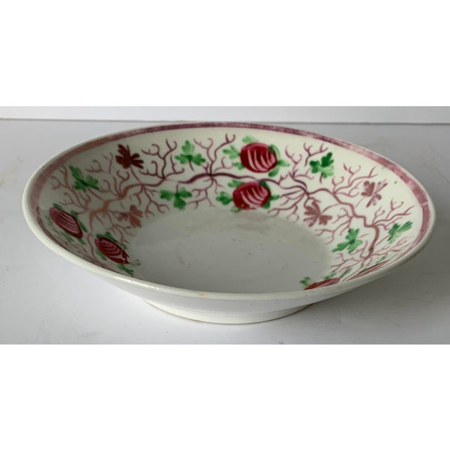 Antique English Lustreware Berry Motif Trinket Dish For Sale In New York - Image 6 of 10