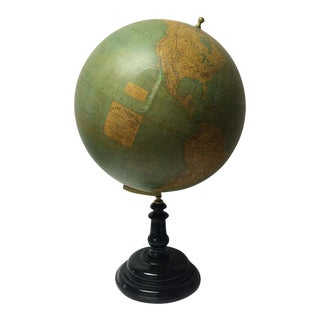 19th C. French Globe Terrestre