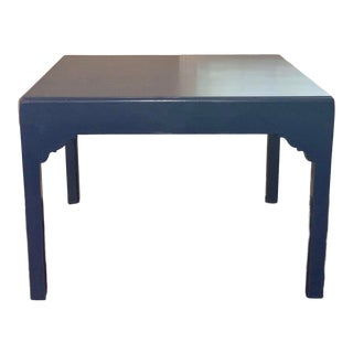 Lacquer Bespoke Large End Table or Coffee Table For Sale