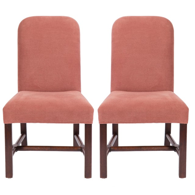 Belgian Axel Vervoordt Linen Side Chairs - a Pair For Sale In Nashville - Image 6 of 6